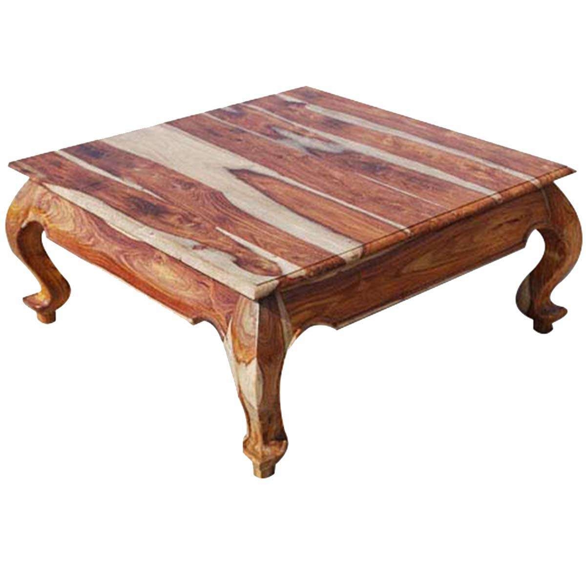Custom Made Rustic Wood Coffee Tables Intended For Well Known Solid Gallery