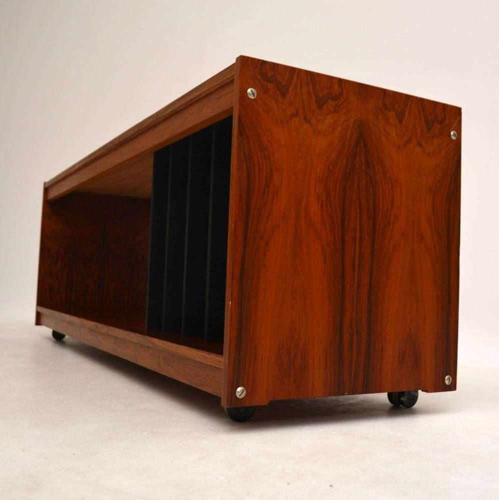 Danish Rosewood Retro Sideboard / Record Cabinet / T (View 2 of 20)