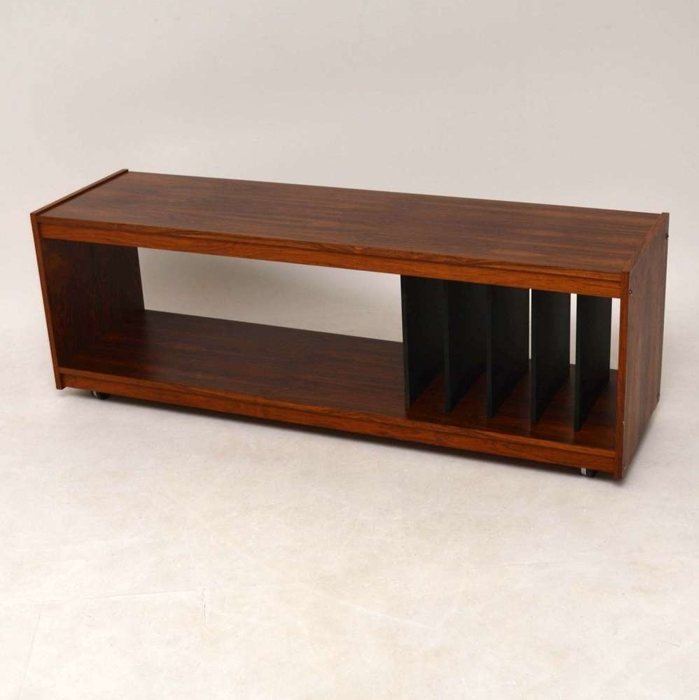 Danish Rosewood Retro Sideboard / Record Cabinet / T (View 7 of 20)