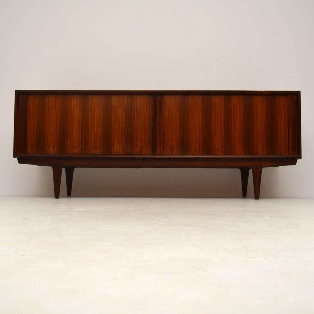 Danish Rosewood Retro Sideboardbernhard Pedersen Vintage In Danish Retro Sideboards (View 18 of 20)