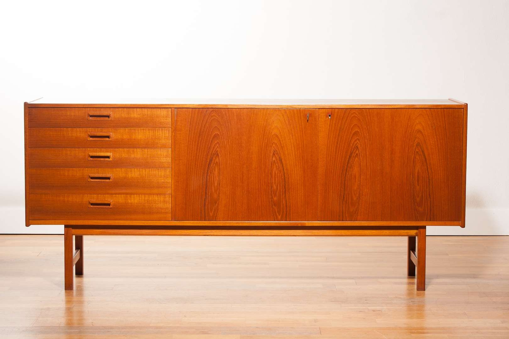 Danish Teak Sideboard From Ulferts, 1960S For Sale At Pamono Regarding Teak Sideboards (View 3 of 20)