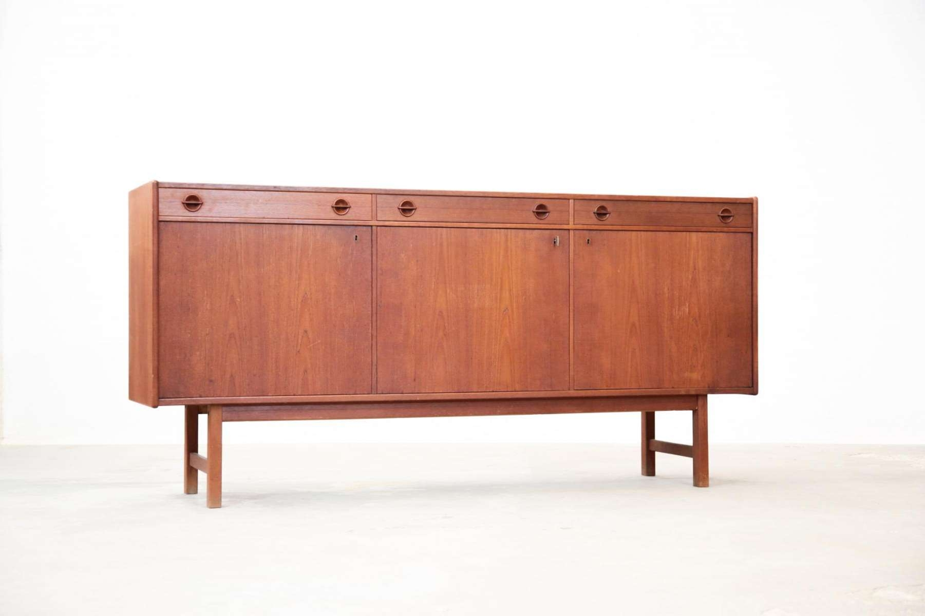Danish Teak Sideboardtage Olofsson For Ulferts Möbler For Sale Within Teak Sideboards (View 4 of 20)