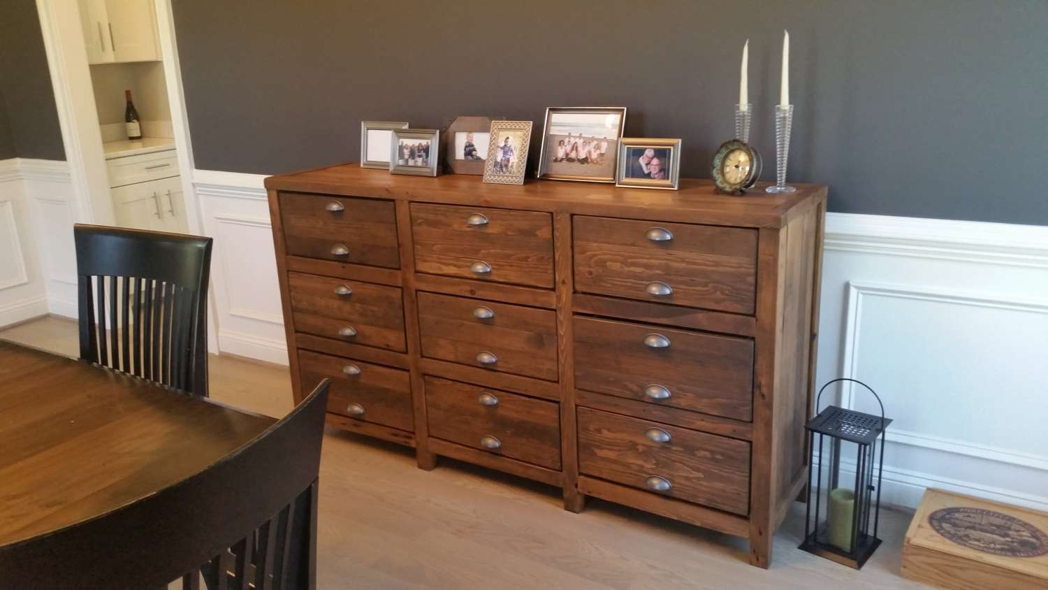 Decorating Rustic Buffet Table   Measuring Up Decoration With Regard To Rustic Sideboards Buffets (View 18 of 20)