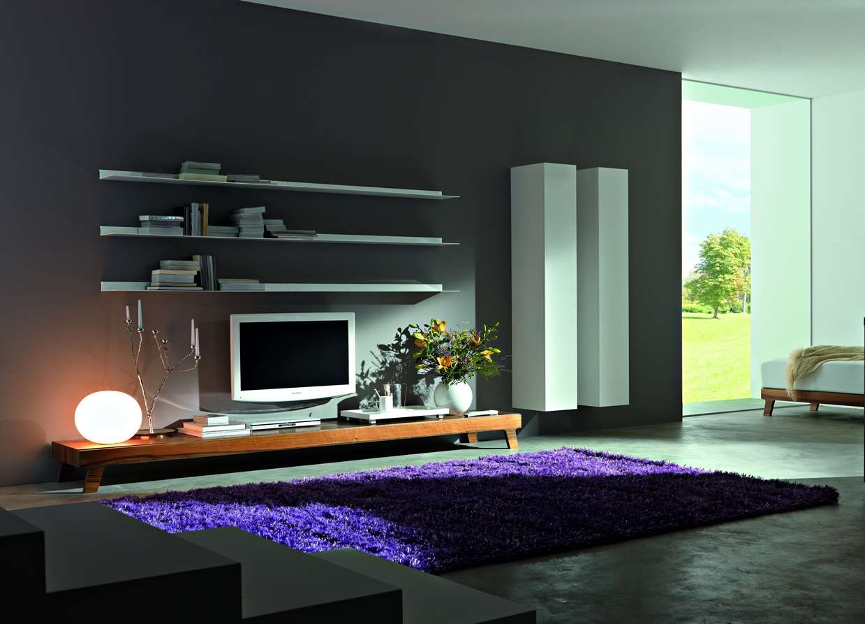 Design Contemporary Tv Wall Unit : Modern Contemporary Tv Wall Regarding Tv Cabinets Contemporary Design (View 13 of 20)
