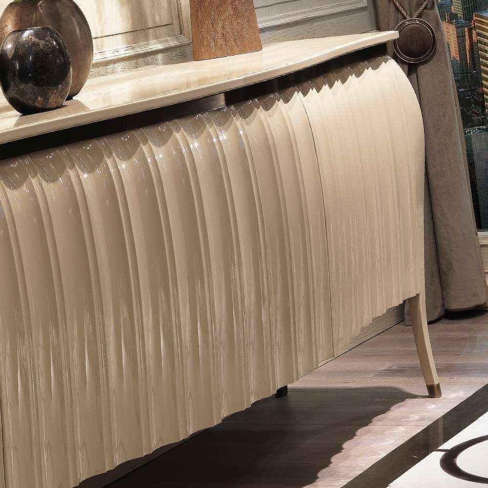 Designer High Gloss Lacquered Sideboard Buffet | Juliettes Regarding High Gloss Cream Sideboards (View 11 of 20)