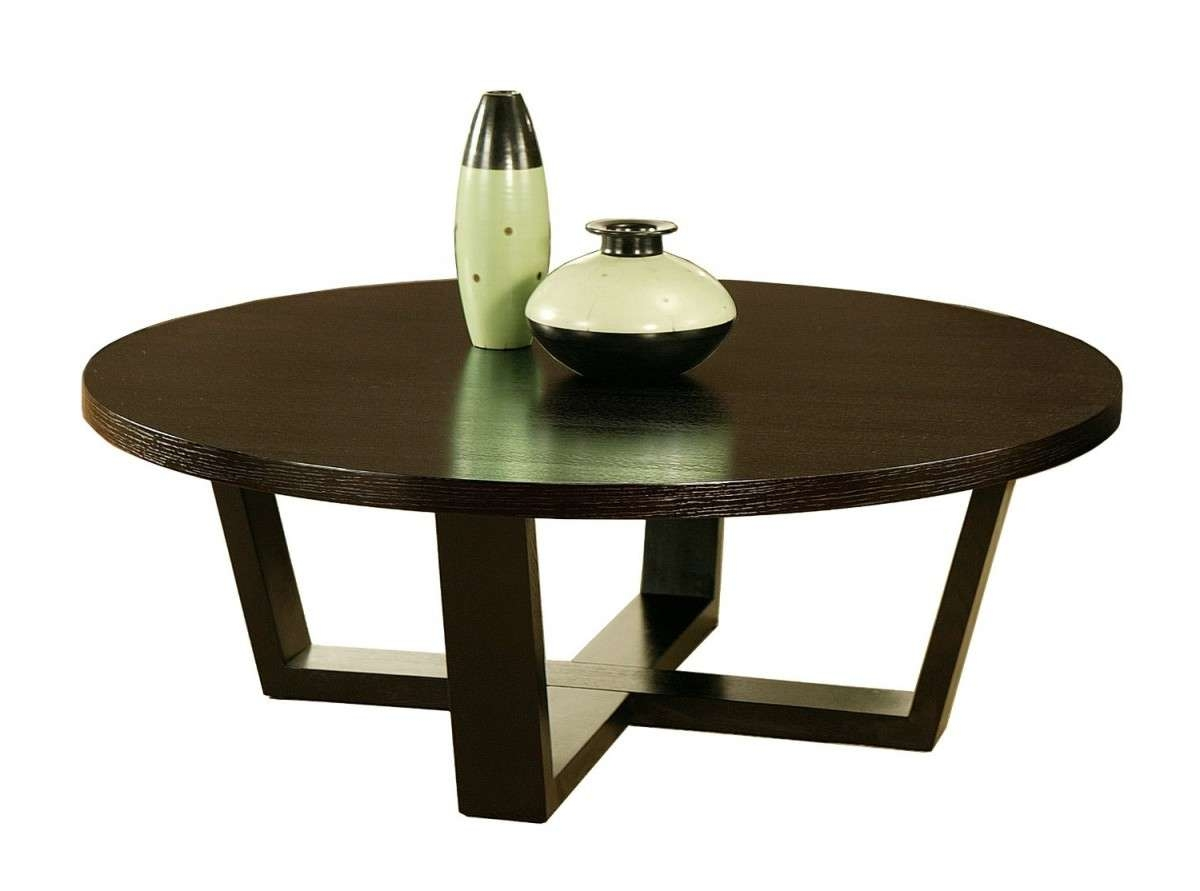 Designer Round Tables Modern Round Coffee Table Wood On Chair And Intended For Preferred Contemporary Round Coffee Tables (View 9 of 20)