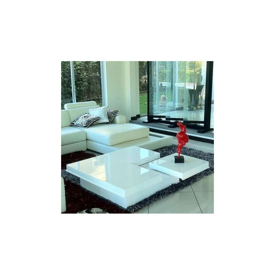 Destiny Modern High Gloss White Coffee Tablevig Furniture With Most Current High Gloss Coffee Tables (View 3 of 20)