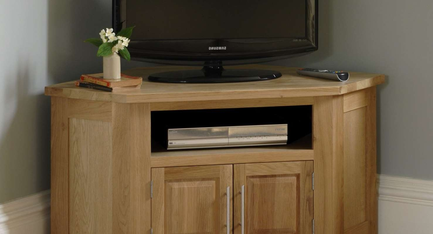 Details About Chunky Funky Solid Wood Tv Unit Stand Cabinet Rustic In Rustic Corner Tv Cabinets (View 17 of 20)