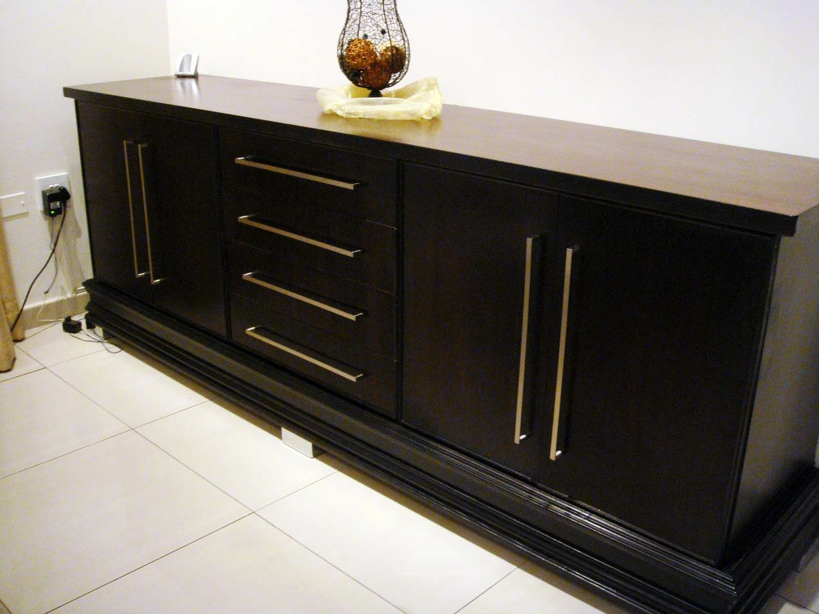 Dining Room Bar Sideboard | Latest Home Decor And Design In Black Dining Room Sideboards (View 13 of 20)