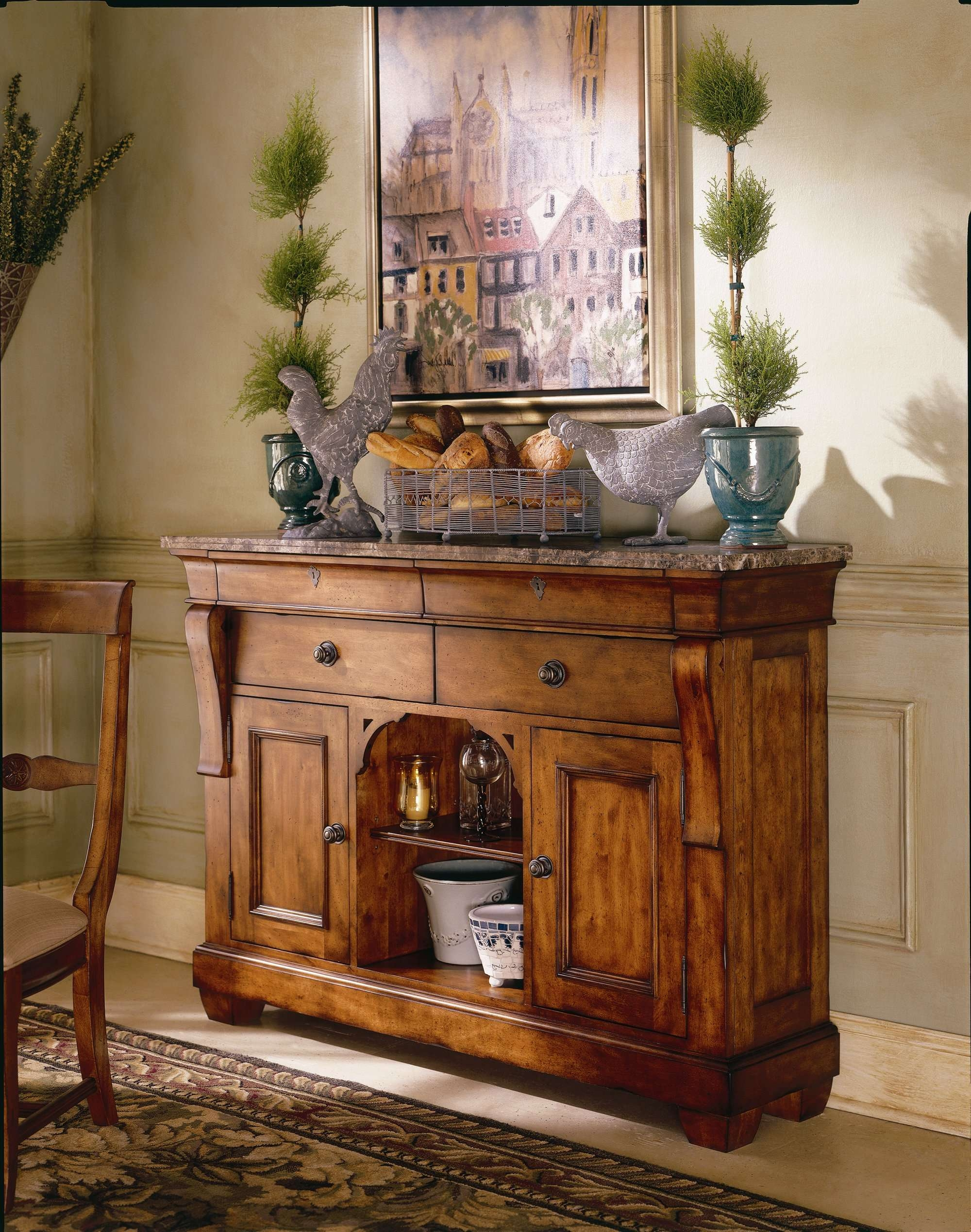 Dining Room : Beautiful Sideboard Cabinet Wood Buffet Cabinet For Small Dining Room Sideboards (View 10 of 20)