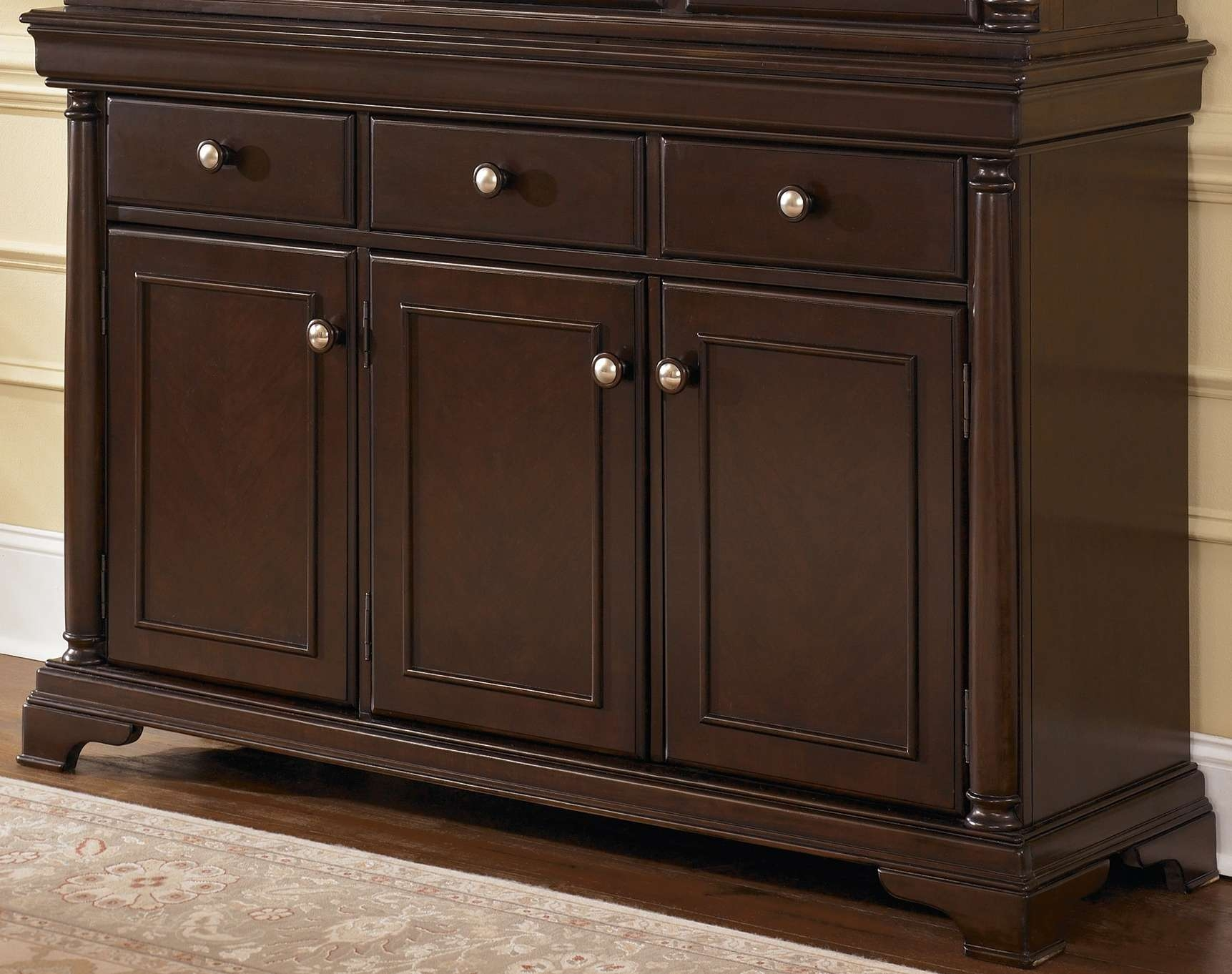Dining Room Credenza Ideas Including Buffet Cabinet Pictures Inside Black Dining Room Sideboards (View 14 of 20)