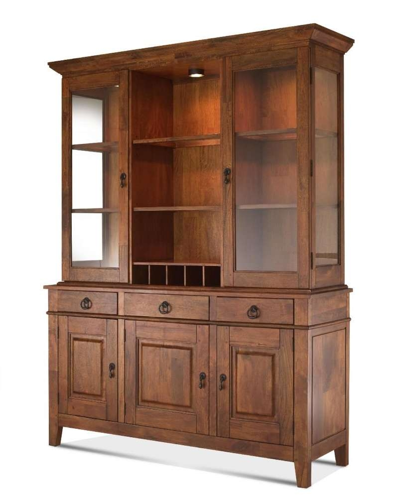 Showing Gallery Of Antique Sideboards With Mirror View 14 20 Photos