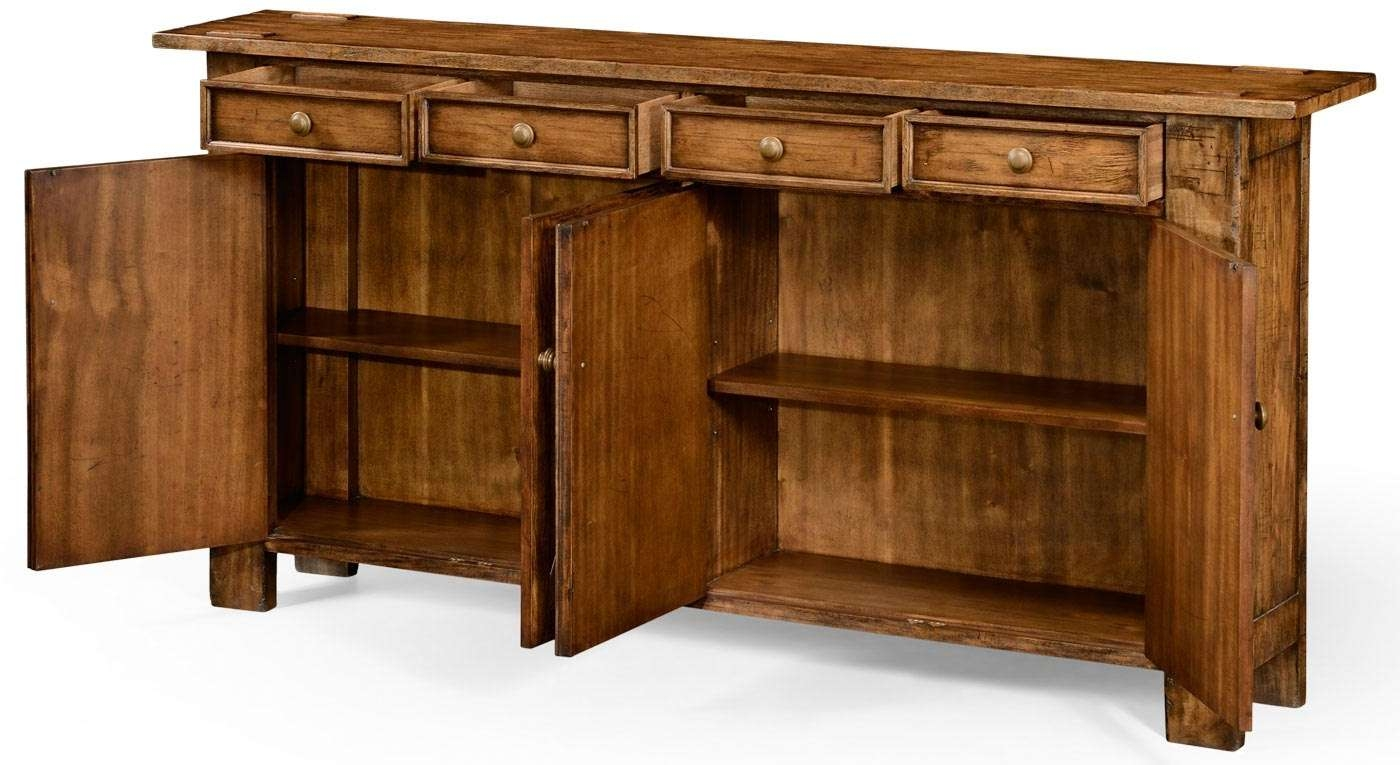 Dining Room Server Cabinet Sideboard Buffet With Wine Rack Skinny With Regard To Skinny Sideboards (View 6 of 20)