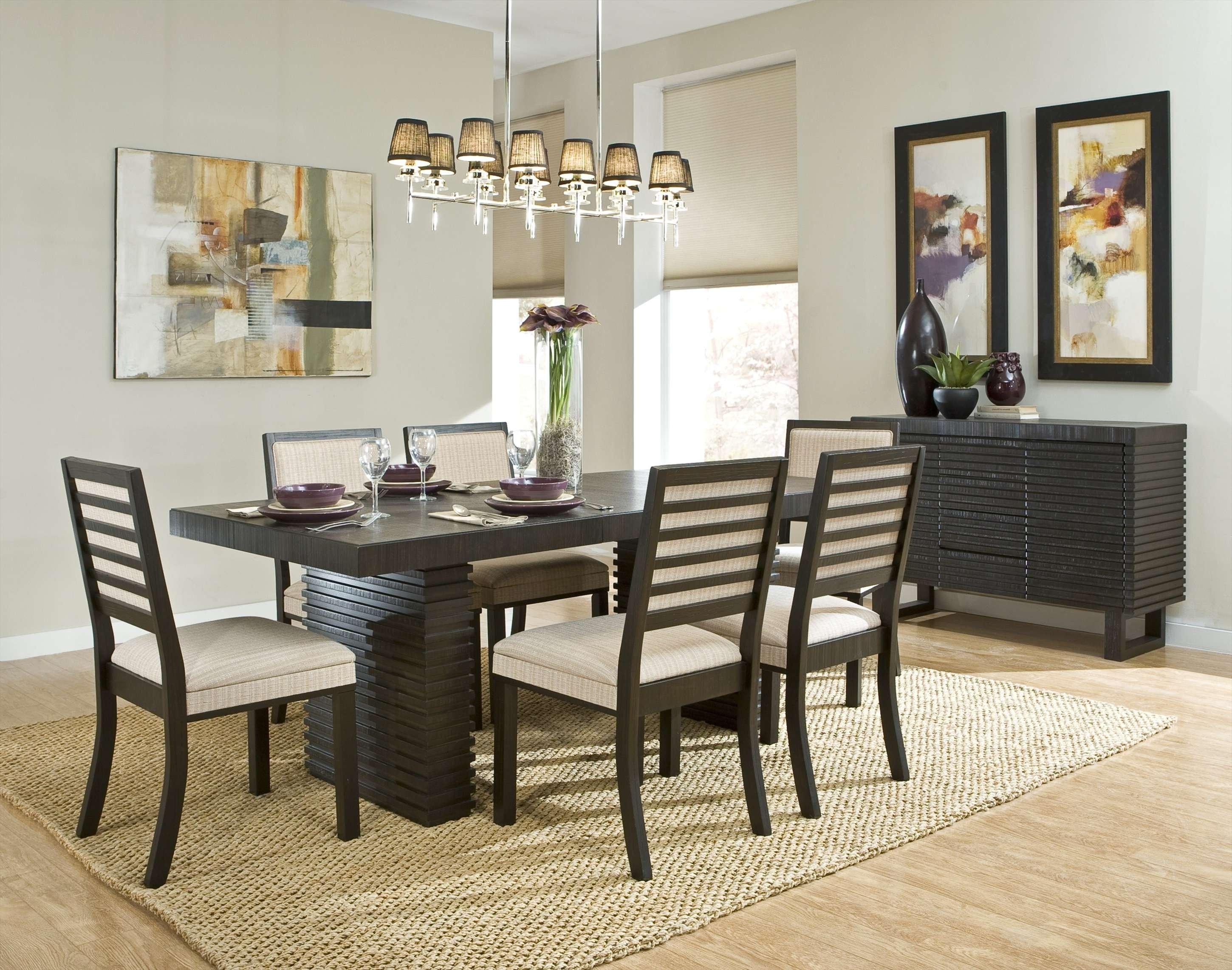 Dining Room Sideboard Decorating Ideas ~ Dining Room Pertaining To Dining Room Sets With Sideboards (View 2 of 20)