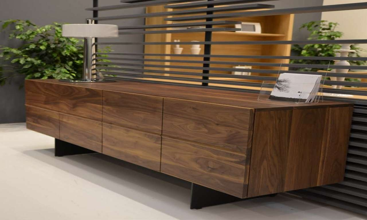 Dining Shelf, Contemporary Walnut Modern Sideboards Walnut With Modern Sideboards And Buffets (View 10 of 20)