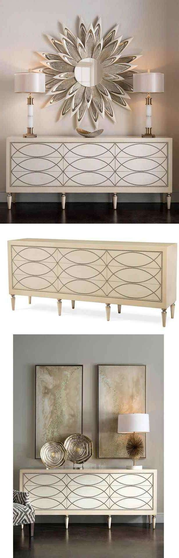 Dinning Credenza Buffet Slim Sideboard Modern Buffet Furniture Intended For Modern Buffet Sideboards (View 20 of 20)