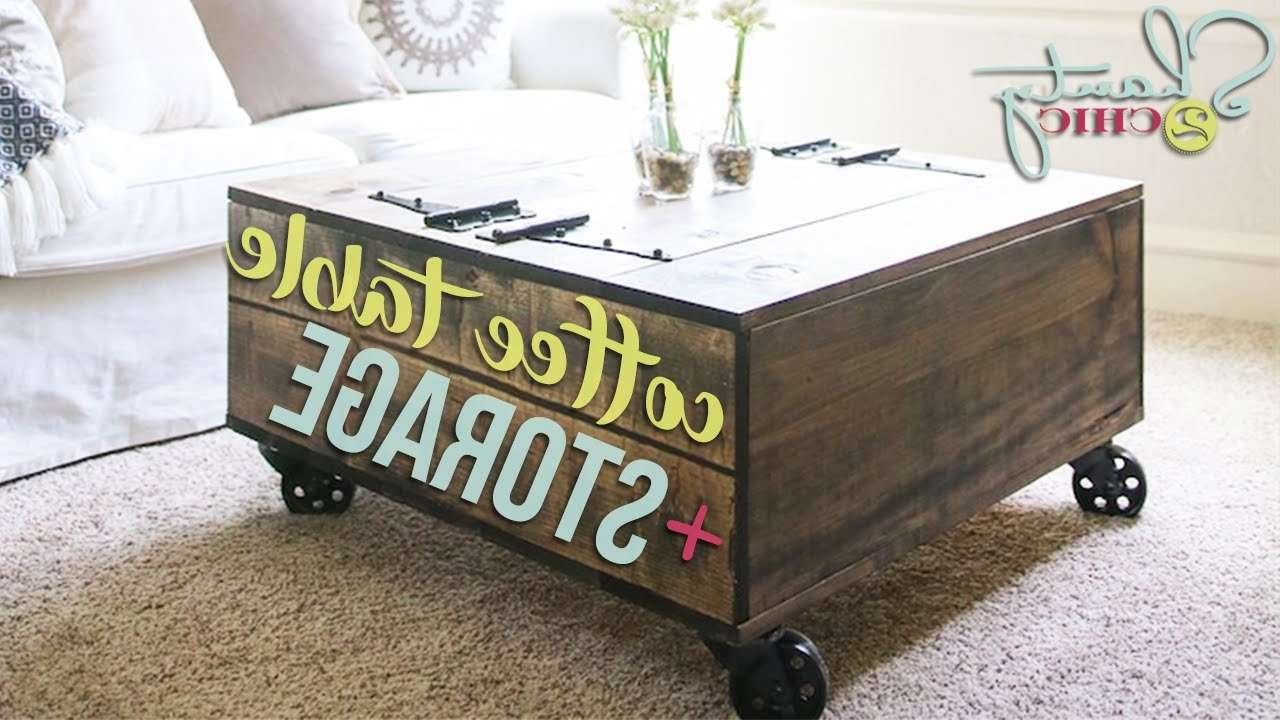 Diy Coffee Table With Storage (View 7 of 20)