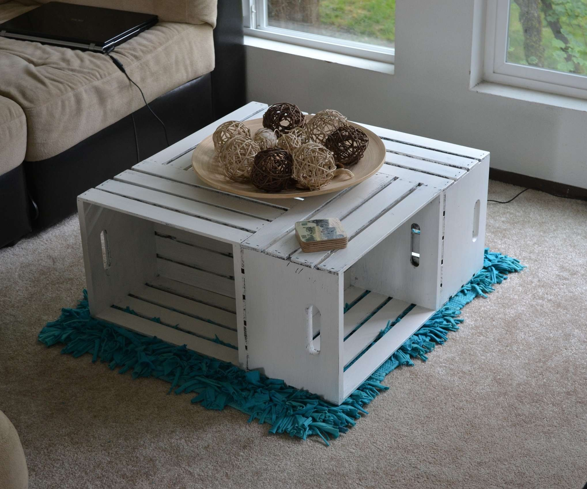 Diy Coffee Tables Ideas Wine Crate Coffee Table Diy Coffee Table With Regard To Most Recent Nice Coffee Tables (View 5 of 20)