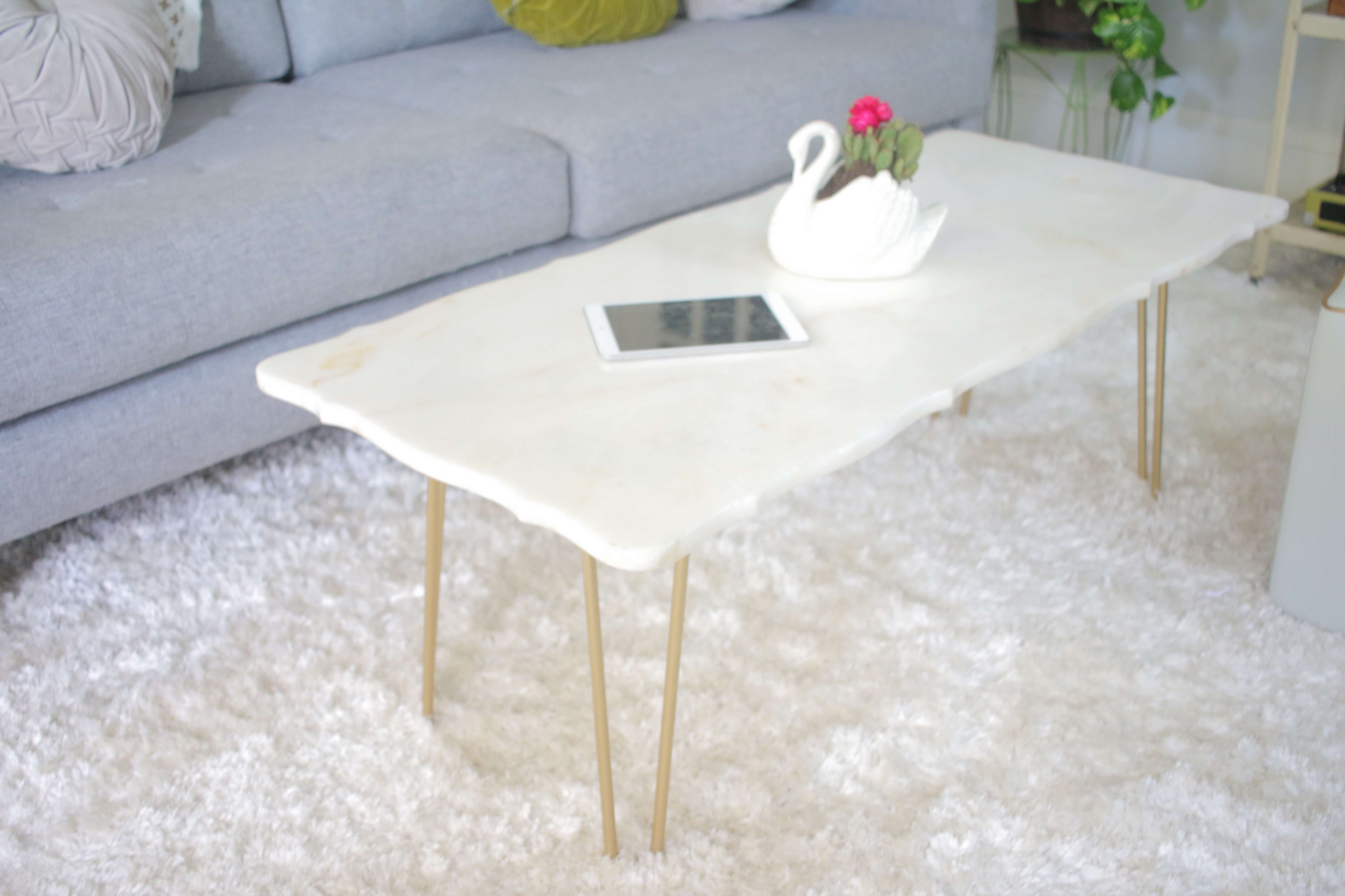 Diy: Marble Coffee Table Intended For Newest Marble Coffee Tables (View 4 of 20)