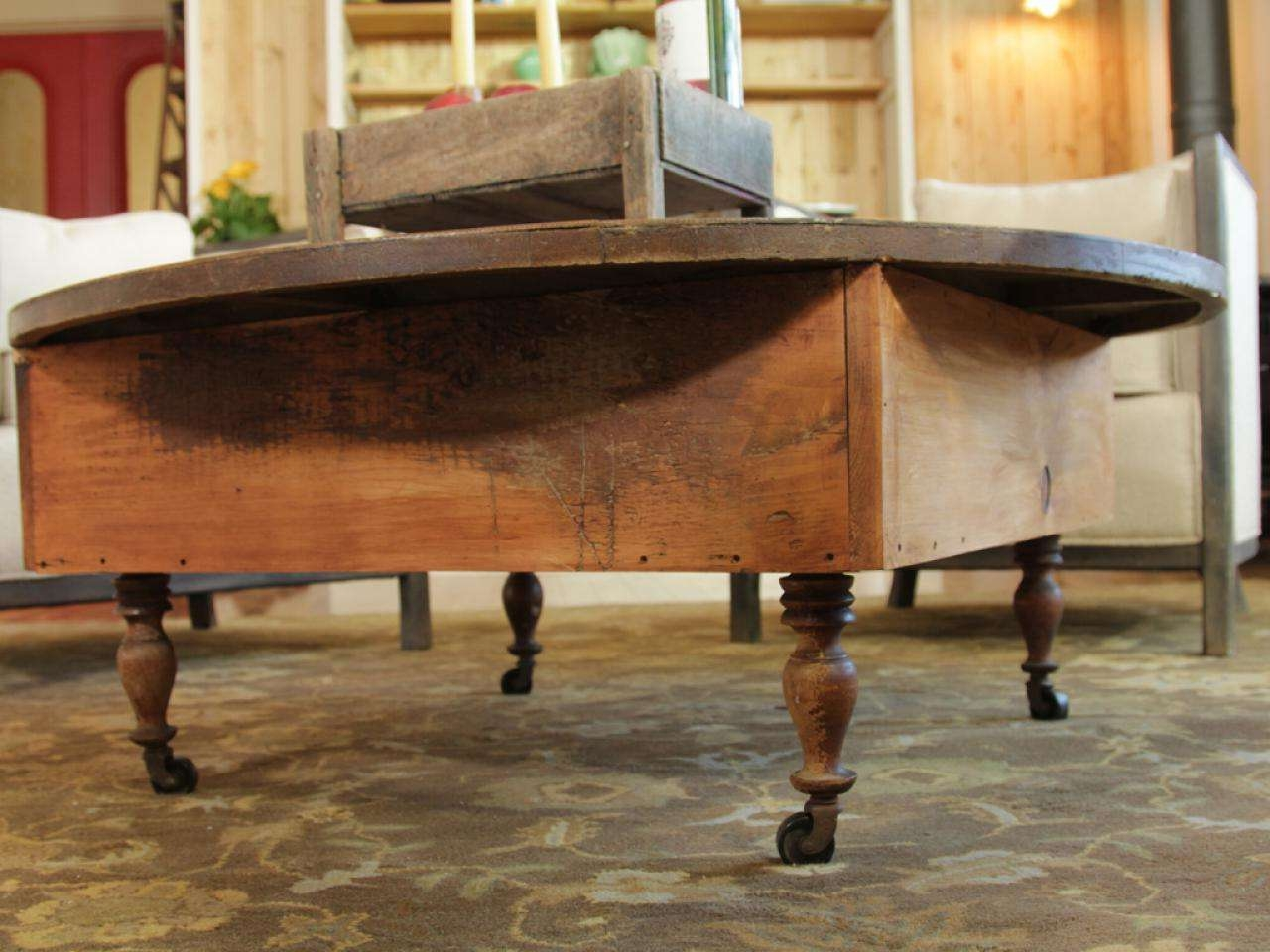Diy Regarding Well Known Reclaimed Wood Coffee Tables (View 4 of 20)
