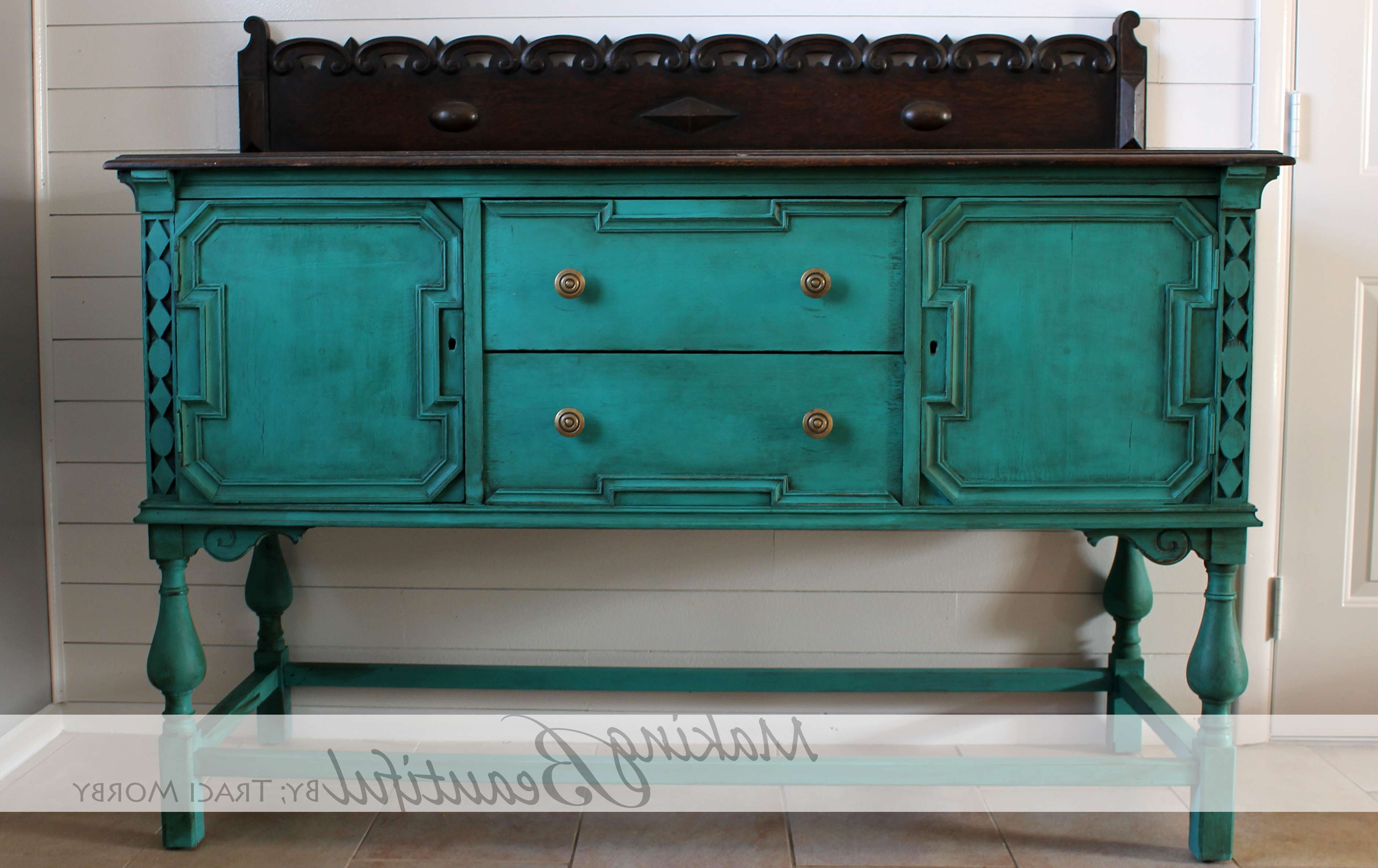 Diy} | Traci Morby Styling Inside Annie Sloan Painted Sideboards (View 15 of 20)