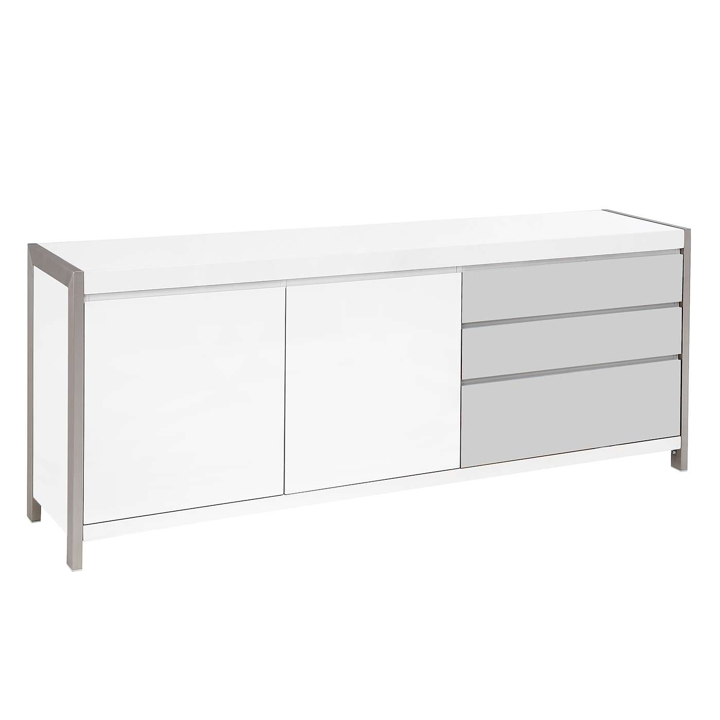 Dolcedo White High Gloss Sideboard | Redtree Furniture – Keadue Pertaining To High Gloss Grey Sideboards (View 4 of 20)
