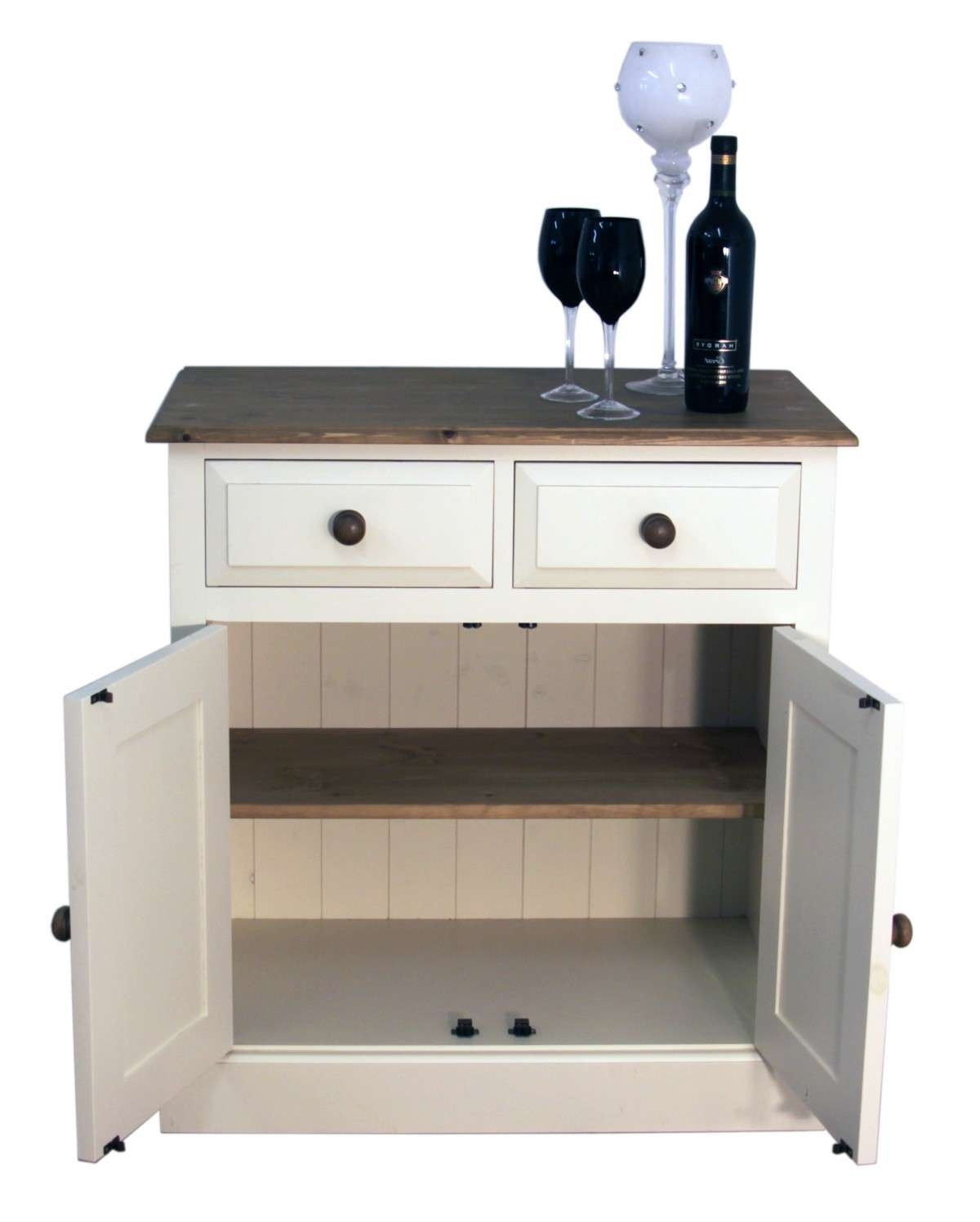 "Doors And Drawers Shallow Depth Sideboard – Available In 2'6"", 3 Intended For Shallow Sideboards (View 6 of 20)"