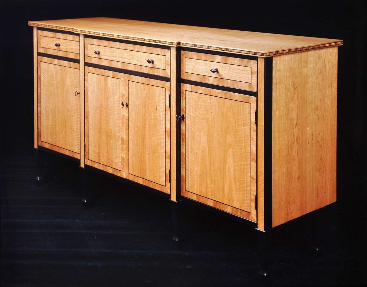 Dorset Custom Furniture – A Woodworkers Photo Journal: Custom Within Maple Sideboards (View 5 of 20)