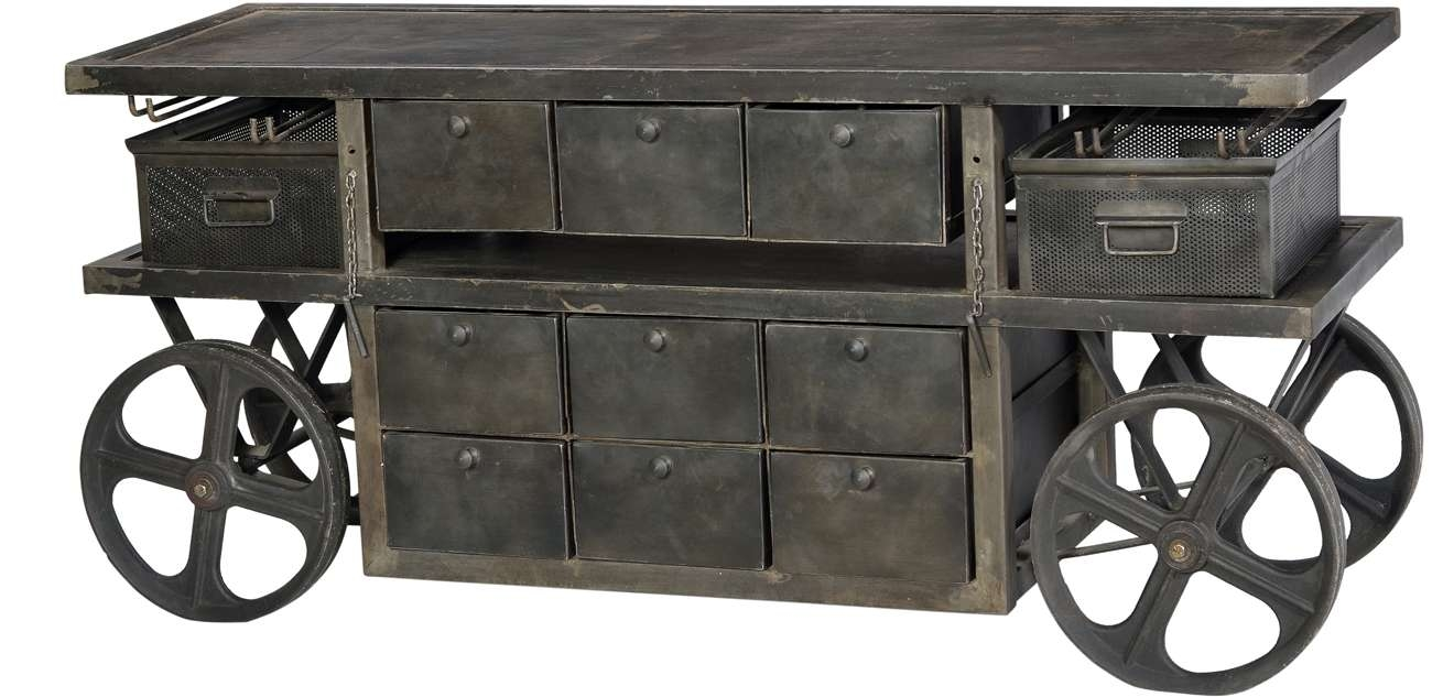 Dov Industrial Sideboard | Artiques Imports For Industrial Sideboards (View 4 of 20)