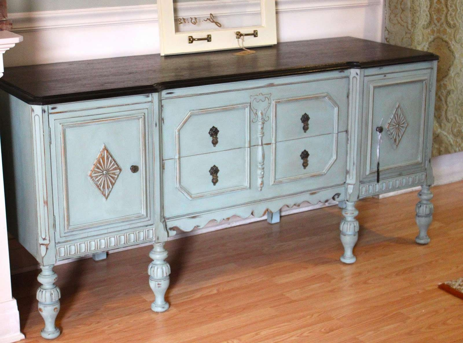 Duck Egg Blue Sideboard / Buffet – Aniah's Window With Regard To Blue Buffet Sideboards (View 9 of 20)