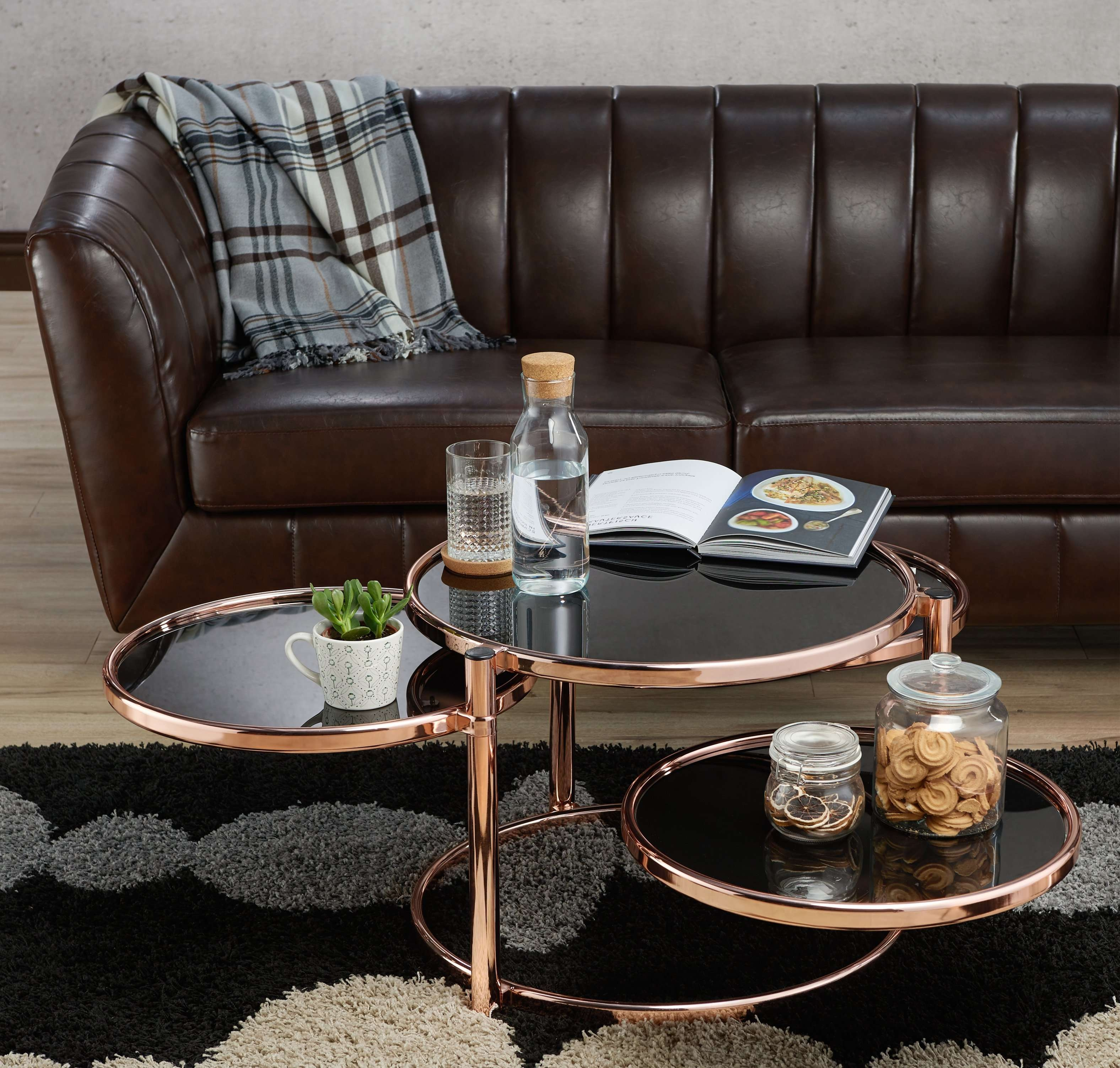 Ebay Within Newest Round Swivel Coffee Tables (View 20 of 20)