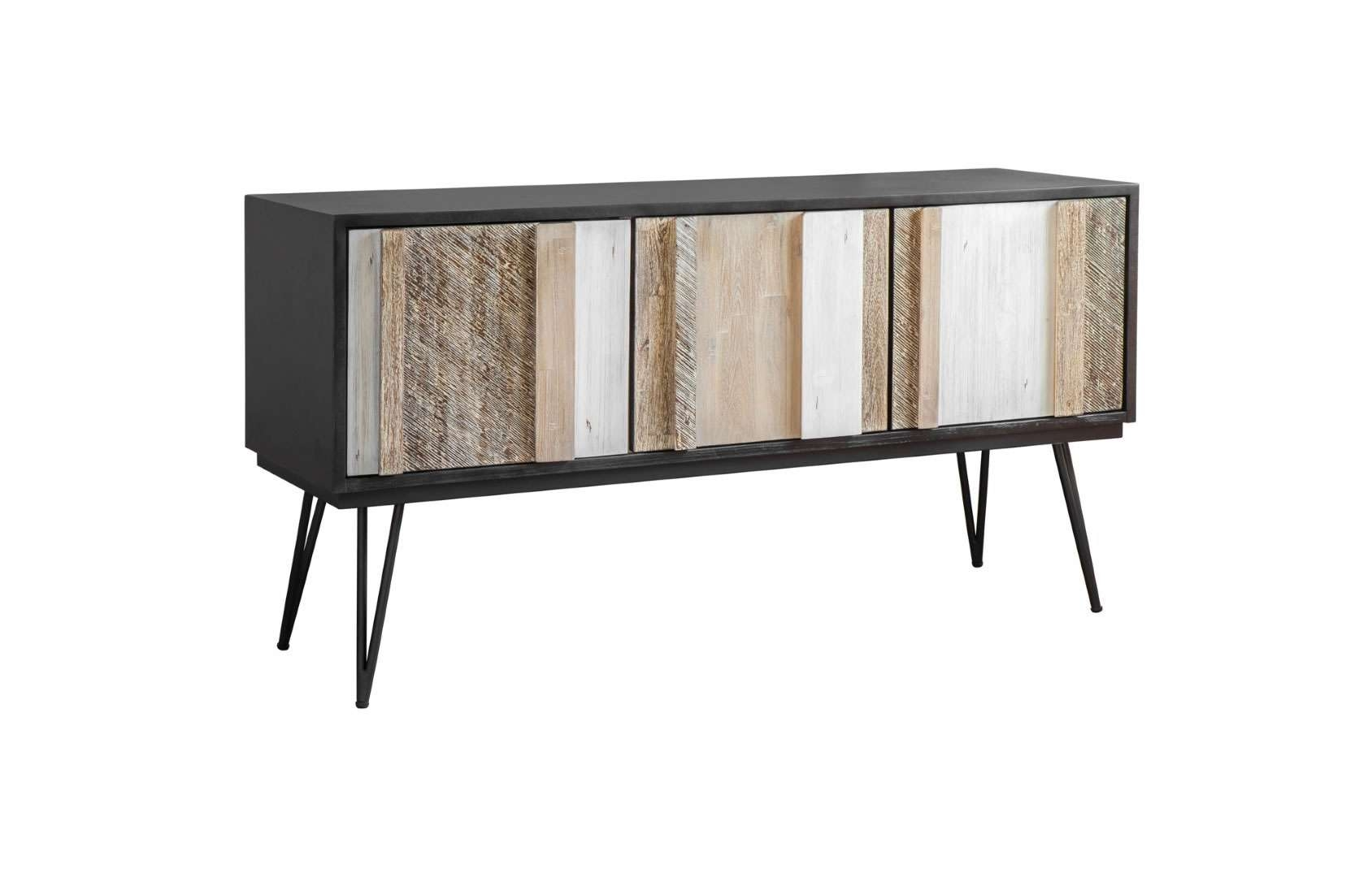 Eclectic – Lh Imports Noir Havana Sideboard – Lh Nha003B | Modern With Eclectic Sideboards (View 2 of 20)