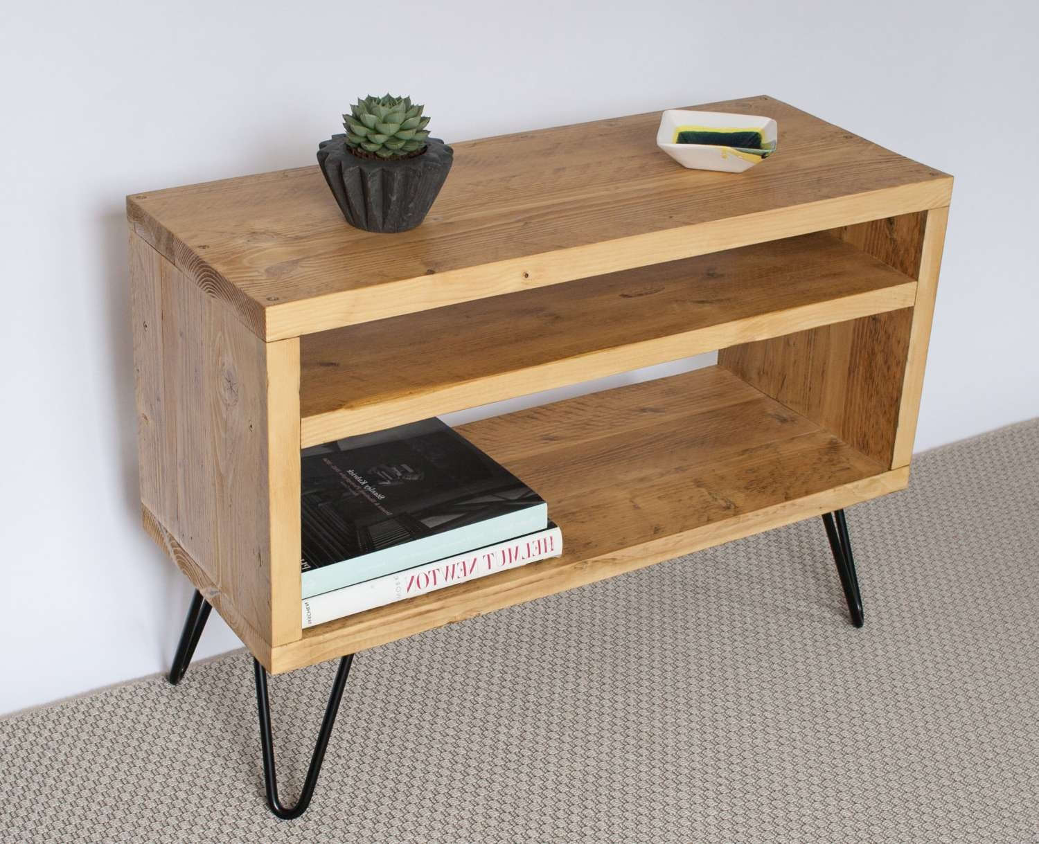 Eddie Reclaimed Wood Tv Stand Tv Cabinet Tv Unit For Light Oak Tv Cabinets (View 8 of 20)