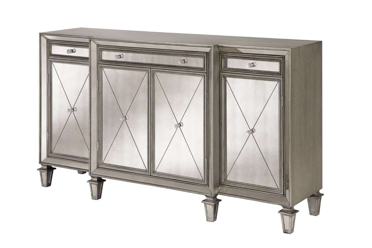 Edith Mirrored Sideboard & Reviews | Joss & Main Regarding Small Mirrored Sideboards (View 2 of 20)