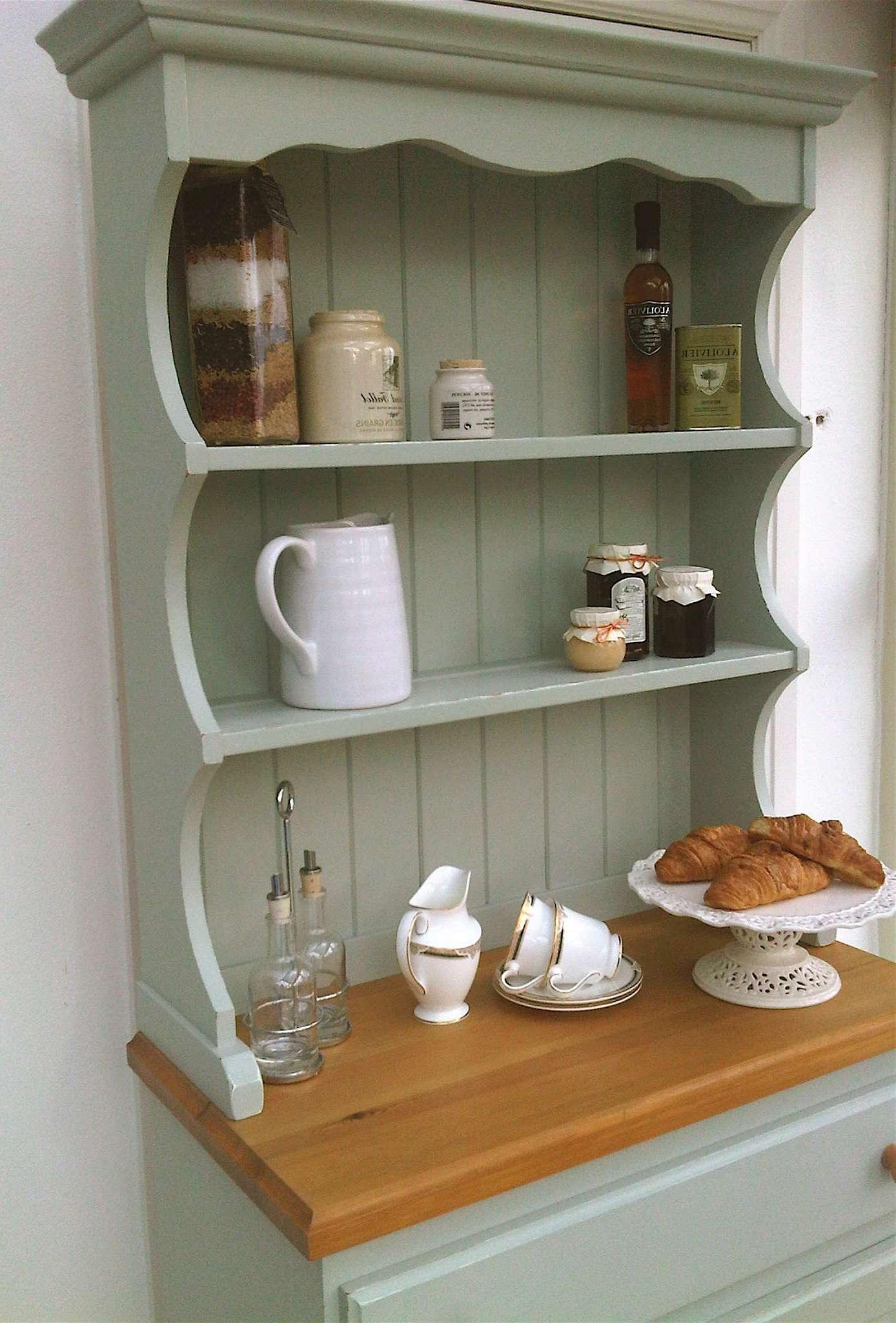 Edwardian Oak Kitchen Dresser Dressers Furniture Cool Kitchen Intended For Kitchen Dressers And Sideboards (Gallery 3 of 20)