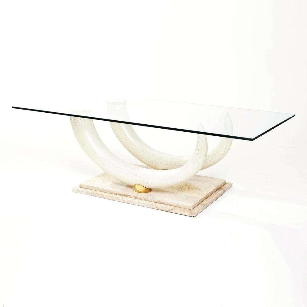 Elephant Glass Coffee Table – Akiyo Pertaining To Latest Elephant Glass Coffee Tables (View 13 of 20)