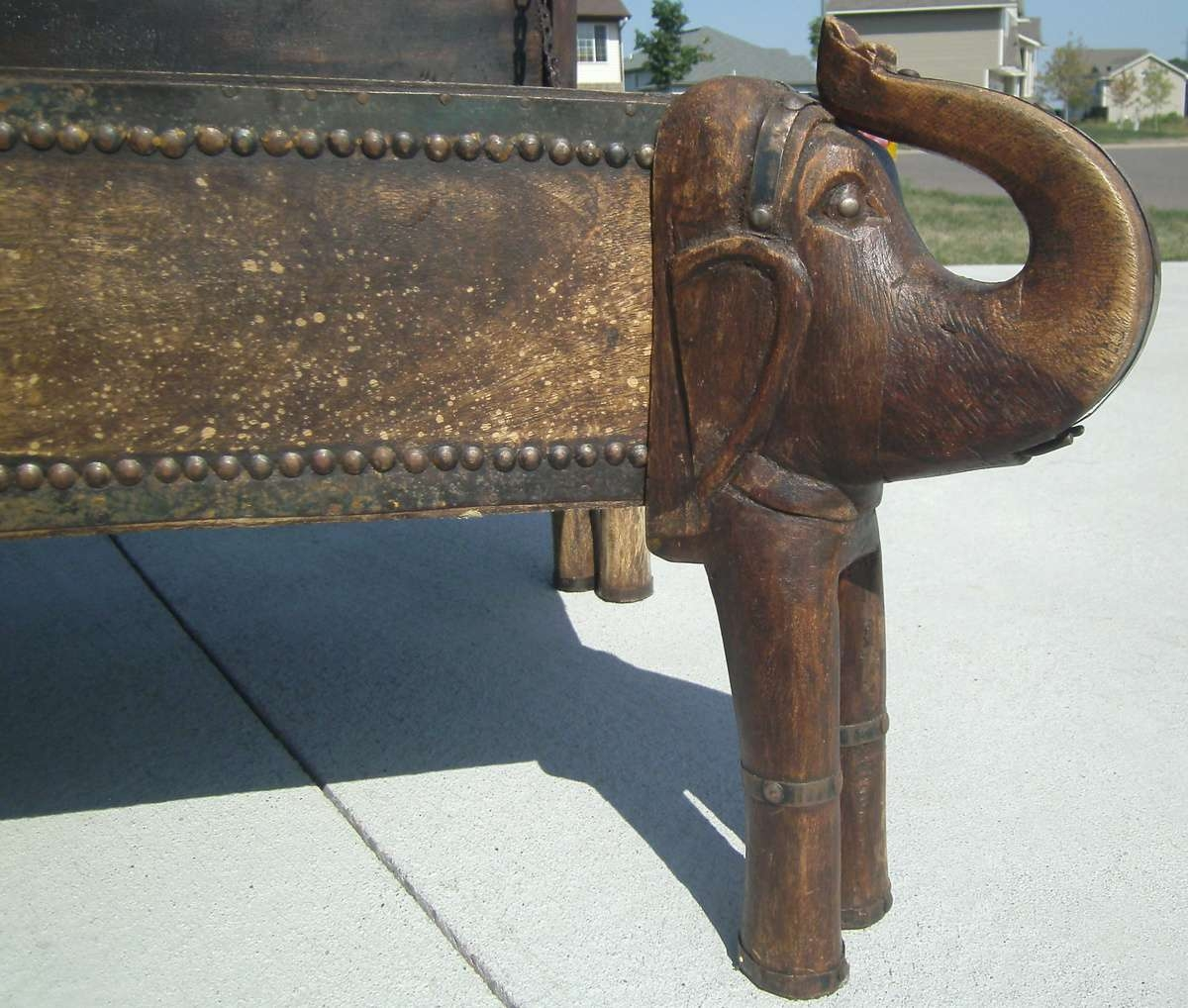 Elephant Trunk Coffee Table Chest (Gallery 12 Of 20)