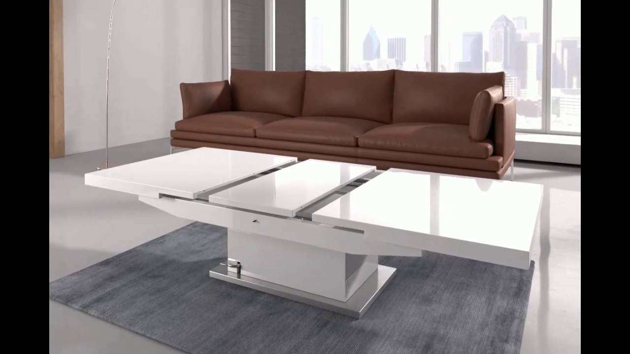 Elgin Coffee Table That Also Converts To A Dining Table In W – Youtube With Regard To Most Popular Coffee Table To Dining Table (Gallery 8 of 20)