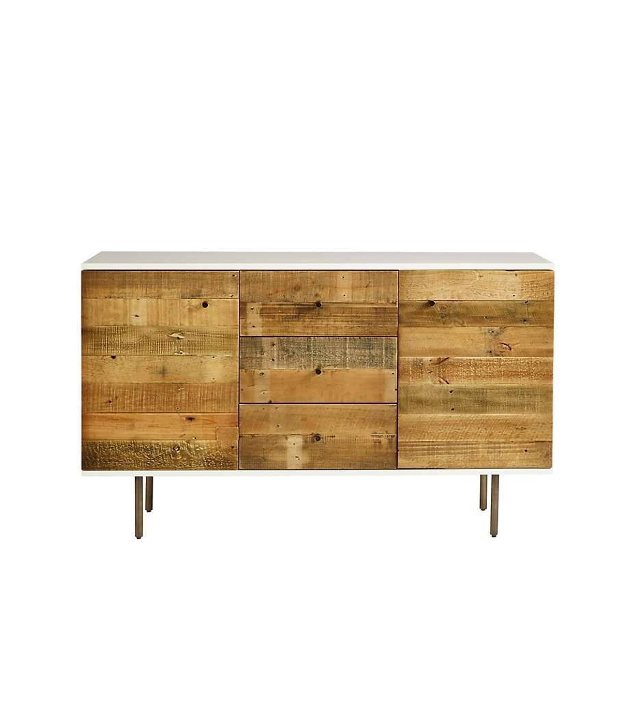 Elm Reclaimed Wood And Lacquer Sideboard For West Elm Sideboards (View 10 of 20)
