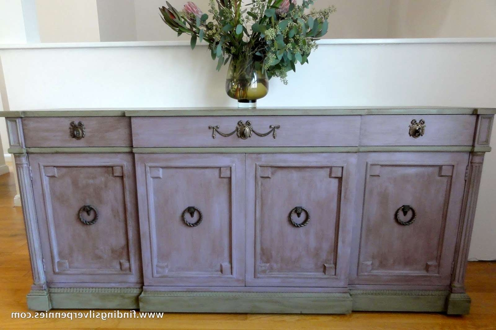 Emile Buffet (Before & After) – Finding Silver Pennies In Chalk Painted Sideboards (Gallery 20 of 20)