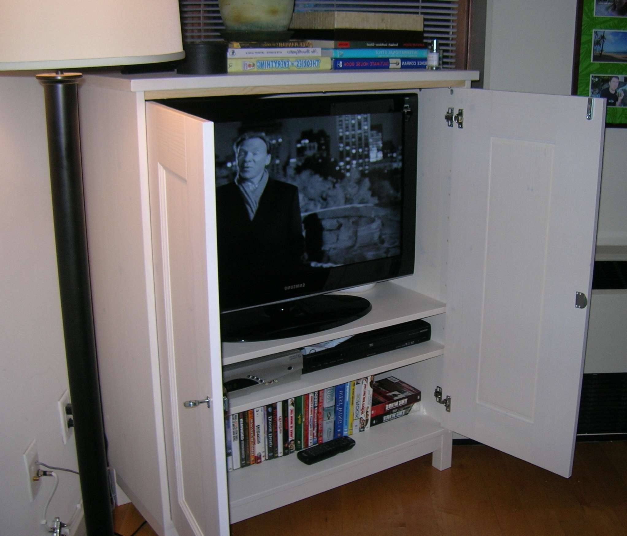 Enclosed Tv Cabinet With Doors Choice Image – Doors Design Ideas With Enclosed Tv Cabinets For Flat Screens With Doors (View 4 of 20)