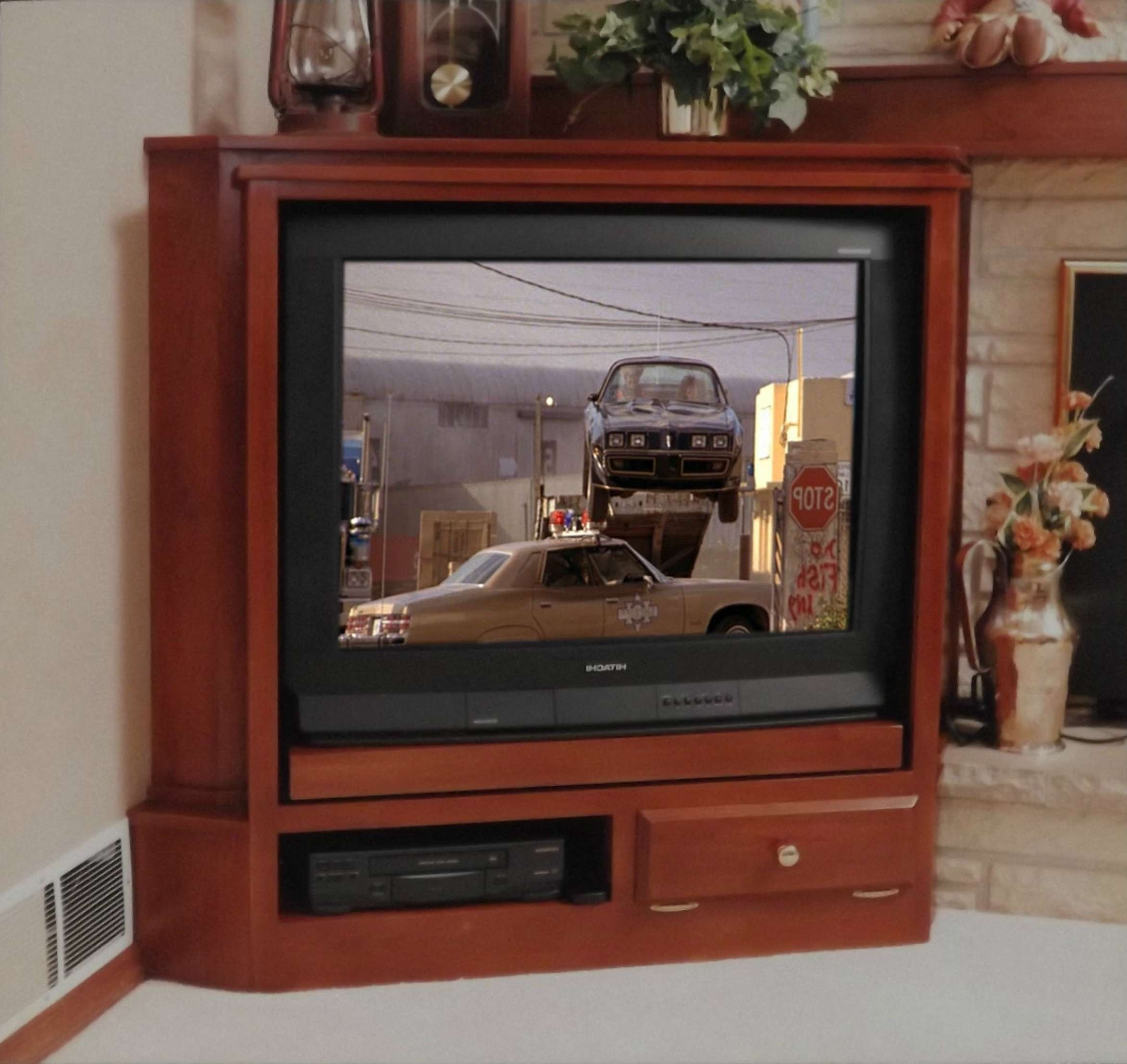 Enclosed Tv Cabinets Flat Screens Doors Panel Tabletop Stand For Enclosed Tv Cabinets With Doors (View 15 of 20)