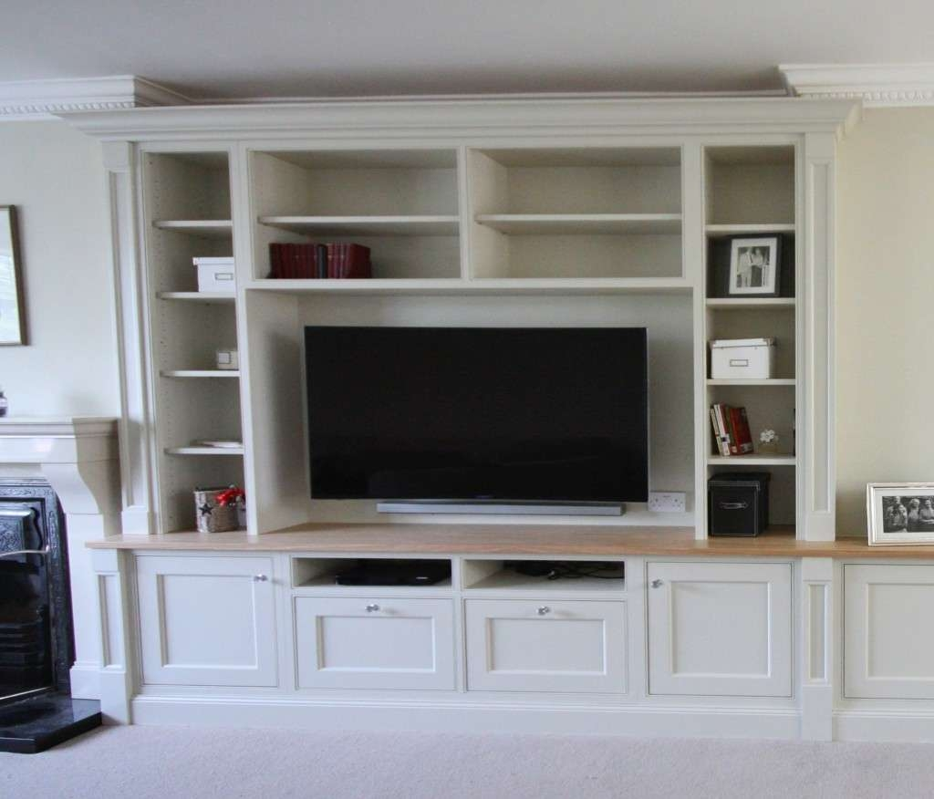 Enigma Design » Tv And Alcove Units Regarding Bespoke Tv Cabinets (Gallery 12 of 20)