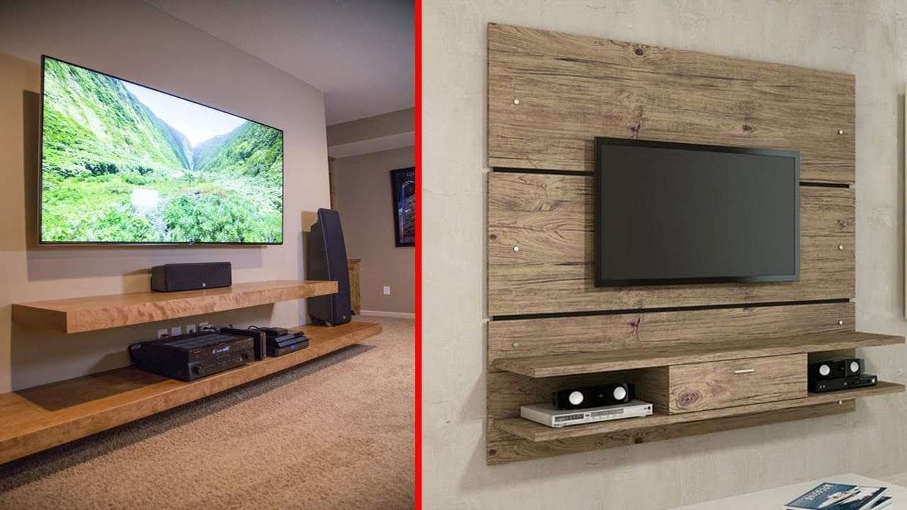 Entertainment Center Ideas | Diy A Stylish Tv Stand Design – Youtube With Regard To Stylish Tv Cabinets (View 6 of 20)