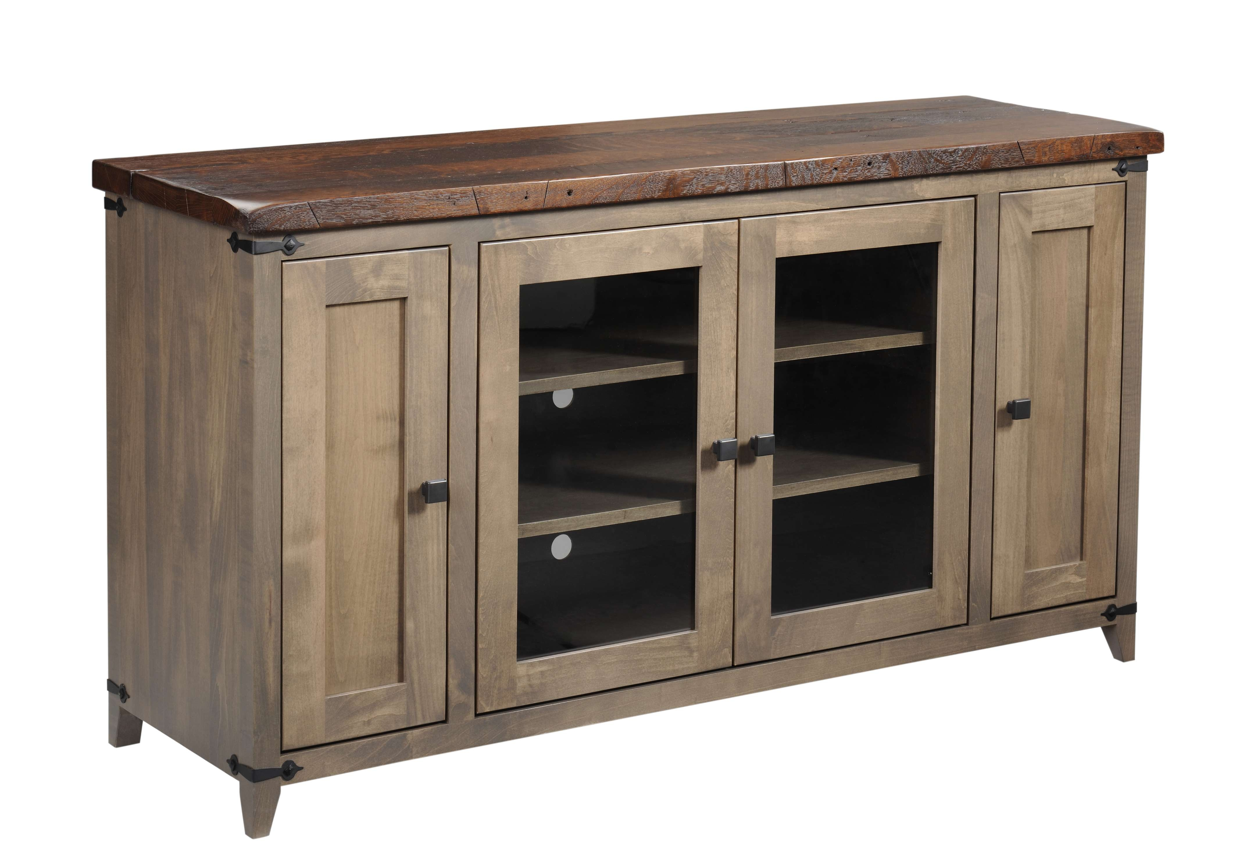 Entertainment Tv Stands, Stereo Cabinets – Portland – Oak In Maple Tv Cabinets (View 6 of 20)