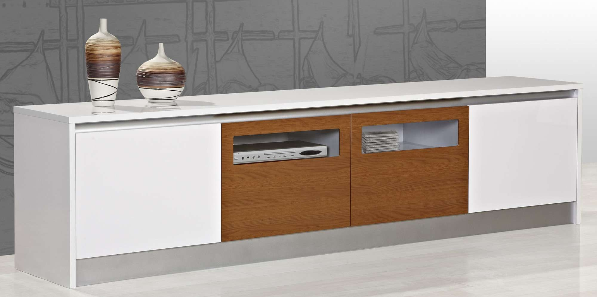 Entertainment Units | Tv Units | Temple & Webster Throughout Country Style Tv Cabinets (View 11 of 20)