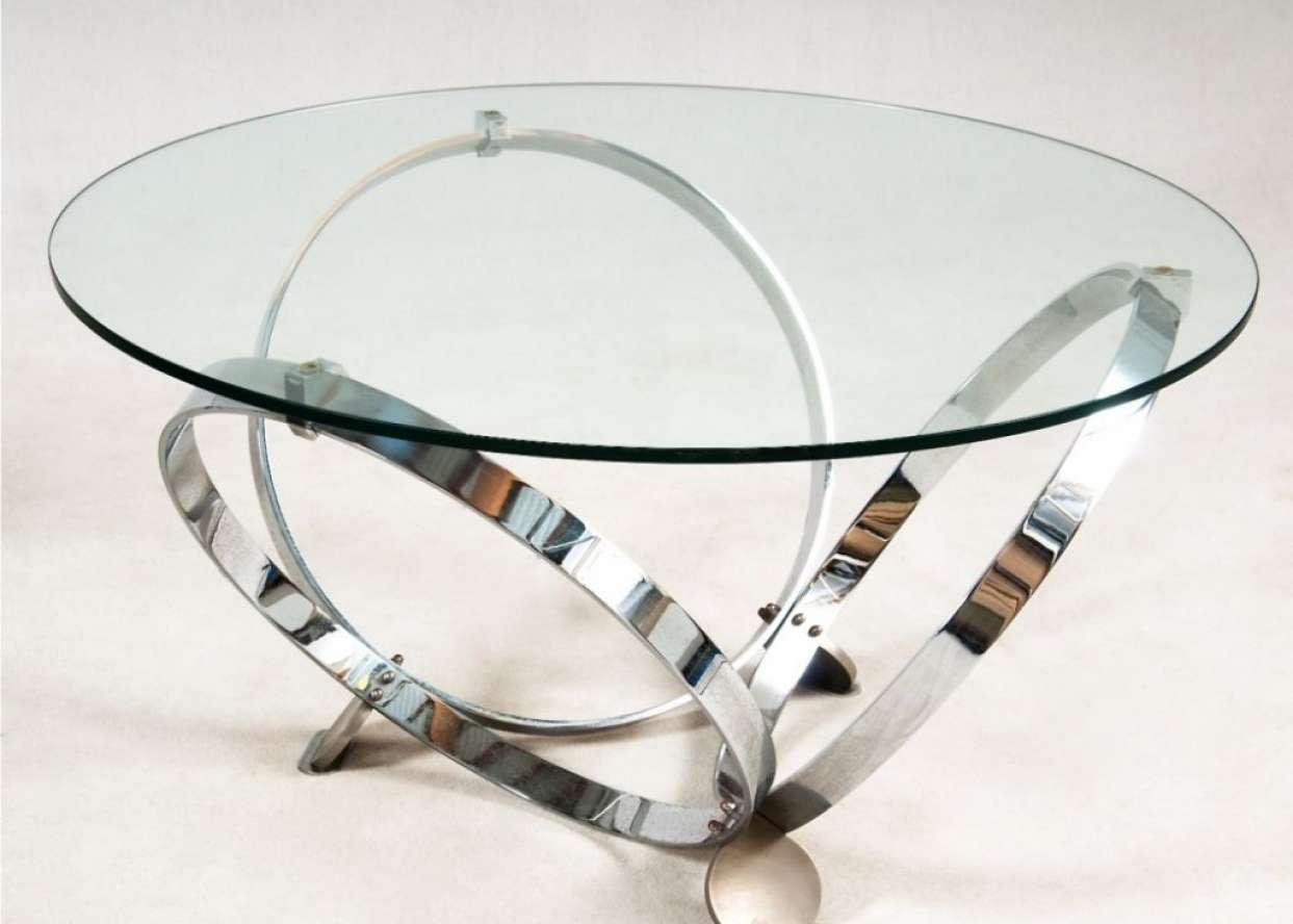 Epic Glass And Chrome Coffee Table 42 On Home Design Ideas With In Popular Glass And Chrome Coffee Tables (View 20 of 20)