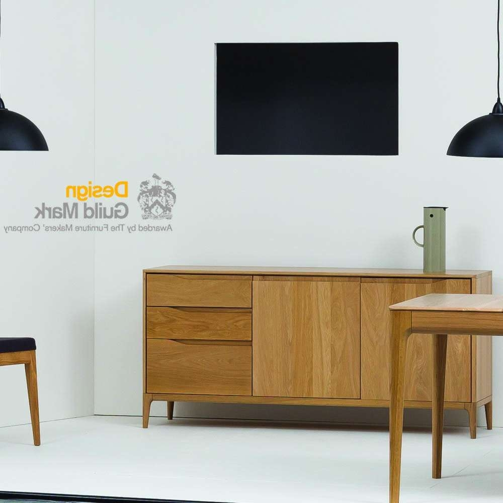 Ercol Romana Sideboard – Sideboards – Dining & Living Room Regarding Living Room Sideboards (View 20 of 20)