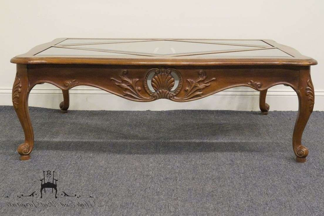 Ethan Allen Country French 50″ Coffee Table (View 7 of 20)