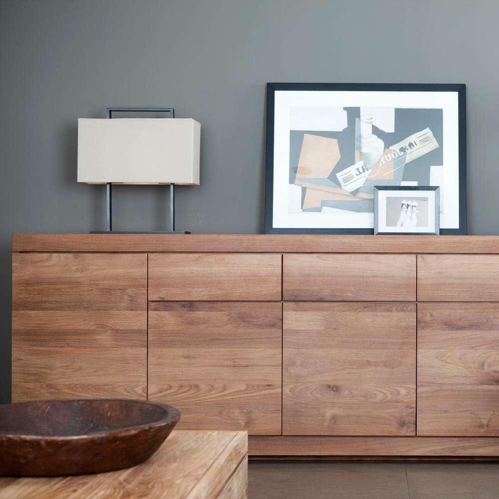 Ethnicraft Burger Teak Sideboard | Solid Wood Furniture With Regard To Teak Sideboards (View 5 of 20)